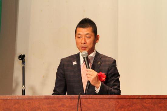 来賓代表 御殿場市若林市長